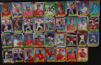 1990 Topps Cincinnati Reds Team Set of 35 Baseball Cards With Traded