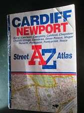 AZ Street Atlas Cardiff Newport Barry Caerleon Caerphilly  and surrounding area