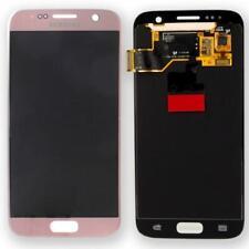 Original Samsung Galaxy s7 g930f pantalla LCD Service Pack gh97-18523e Gold rose