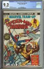 MARVEL TEAM-UP #25 CGC 9.2 OW PAGES