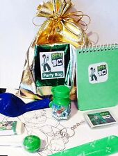 Ben10 loot/party bag with 8 items inside, great value