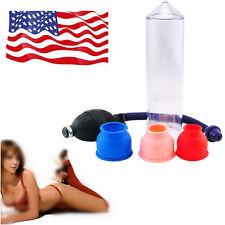 """8""""x 2"""" Vacuum Penis Pump Male Enhancement Enlargement For Man Sex Toy"""