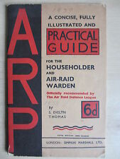 WWar II Home Guard Instructions: Patrolling, ARP Practical Guide and ration book
