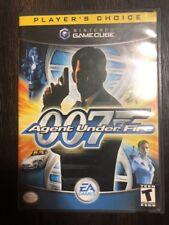 James Bond 007 Agent Under Fire- ( Nintendo Gamecube ) Complete W/box & Manual !