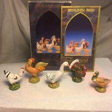 1992 Fontanini Bethlehem Birds