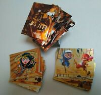 2014 DC Epic Battles Trading Cards Complete Copper Parallel Set Base + Inserts !