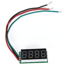 0.36 inches Voltmeter with red LED Digital Panel 0 - 33V 4 Figures
