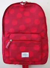 Fossil Zb6839600 Ella Travel Backpack W/ Polka Dots Red