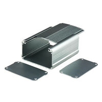 2x Aluminum Project Box Enclosure Case Electronic DIY_Big -55x95x110mm #1176