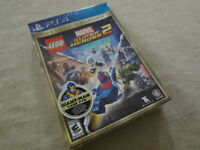 LEGO Marvel Super Heroes 2 DELUXE Edition PlayStation 4 PS4 New Sealed