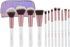 New BH Cosmetics Crystal Quartz 12 Piece Brush Set with Cosmetic Bag