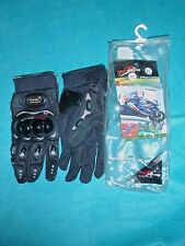 PRO-BIKER PRO GRIP MOTO SPORT GEAR MOTORCYCLE RACING GLOVES MEN'S SIZE XL ~ NEW!