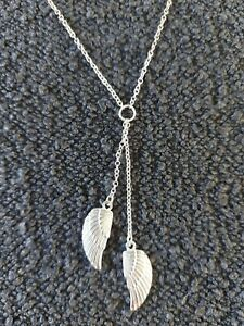 Angel Wings Necklace 16in