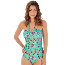 Lepel Sunset Halter Non Wired MOULDED Swimsuit Aqua 1575830 Swimming Costume 18