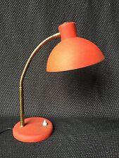 LAMPE DE BUREAU VINTAGE 1960 ROUGE