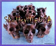 """Beelzebub"" Sabo Wood Skull Bead - Paracord - Tactical - MOLLE - HOT! US Seller!"