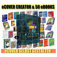 Cover Creator + 50 Ebooks inklusive Reseller Lizenz