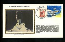 US Postal History Space Colorano Shuttle STS-5 Satellite SBS-3 Deployed 1982 TX