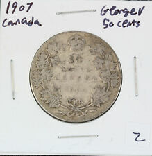 Canada 1907 George V 50 cent Coin, 80% Silver