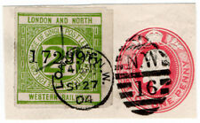(I.B) London & North Western Railway : Letter Stamp 2d (London 1904)
