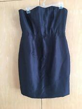 rachel gilbert dress Satin Tube Dress Size 3 NEW