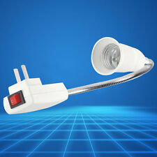 E27 Light Bulb Lamp Holder Flexible Extension Adapter Converter US Plug Tackle