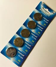 5 X CR2430 Genuine EUNICELL 3V Lithium COIN CELL BUTTON BATTERIES DL2430 KCR2430