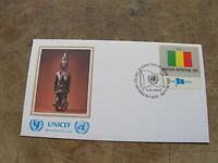 1980 United Nations FDC / First Day Cover - Flags - Mali