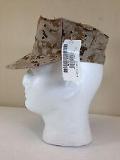 USMC SEKRI MARPAT DESERT MARINE CORPS COVER GARRISON HAT X-SMALL NWT