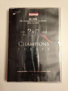 DVD FRANCE FOOTBALL - 50 ANS DE CHAMPIONS D'EUROPE DES CLUBS