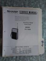 sharp fx 184 service manual original repair book radio solid state rh ebay com Sharp FX Plus Phones AT&T Sharp FX