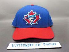 VTG 90's New Era MLB Toronto Blue Jays Snapback Hat Cap sz Medium Large