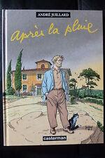 BD le cahier bleu n°2 après la pluie EO 1998 TBE andré juillard casterman