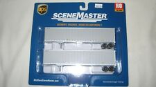 Walthers Ho 48' Stoughton Trailer 2-Pack Ups Upsz Without Shield #949-2255