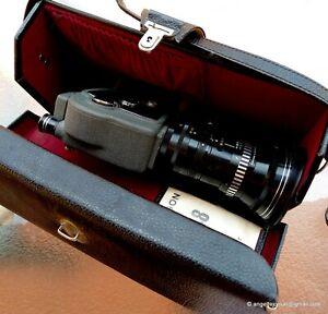 Beaulieu Leather Carrying Case for Beaulieu Reflex Control Movie Cameras