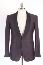 $2k Ralph Lauren Black Purple Label jacquard anthony tuxedo dinner jacket 36 38