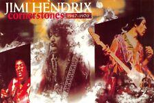 "Postcard, James Marshall "" Jimi "" Hendrix, Cornerstones, American rock Star AS9"