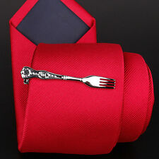Fork shaped tie clip,fork tie slide,flatware fork tie bar,fork tie clasp