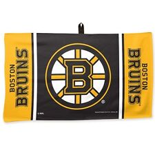 "BOSTON BRUINS WAFFLE GOLF TOWEL 14""X24"" BRAND NEW FREE SHIPPING WINCRAFT"