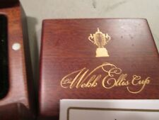 2011 WEBB ELLIS CUP COIN SILVER PROOF WITH 24 K GOLD GILDING NEW ZEALAND