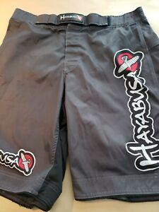 Hayabusa Men's Kickboxing MMA Shorts Size 36