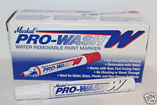 12 x Markal Pro-Wash Water Removable Paint Marker Temporary Marking Fast Drying