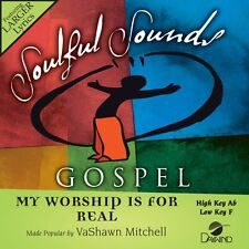 VaShawn Mitchell - My Worship Is For Real -  Accompaniment CD NEW