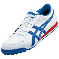 ASICS Golf Shoes GEL PRESHOT CLASSIC 3 Wide 1113A009 White Blue With Tracking
