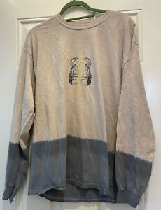 Urban Outfitters Seek The Truth Long Sleeve T Shirt Top Beige M Oversized New