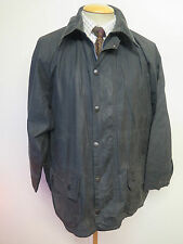 "Barbour A196 Beaufort  Waxed jacket - L 42"" Euro 52 in Blue"