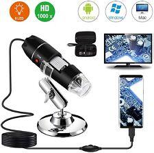 Usb Digital Microscope Endoscope Camera Compatible For Android Mac Microscopio