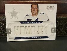 National Treasures Timeline Jersey Cowboys Chuck Howley 26/49  2012