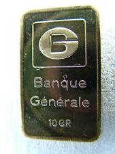 10 g Goldbarren 999.9 Gold von Banque Generale