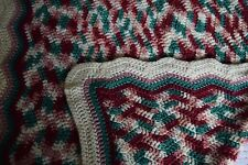 Silky Soft Sofa/Couch Runner Or Lap Blanket Afghan Throw Blanket Crochet Knit